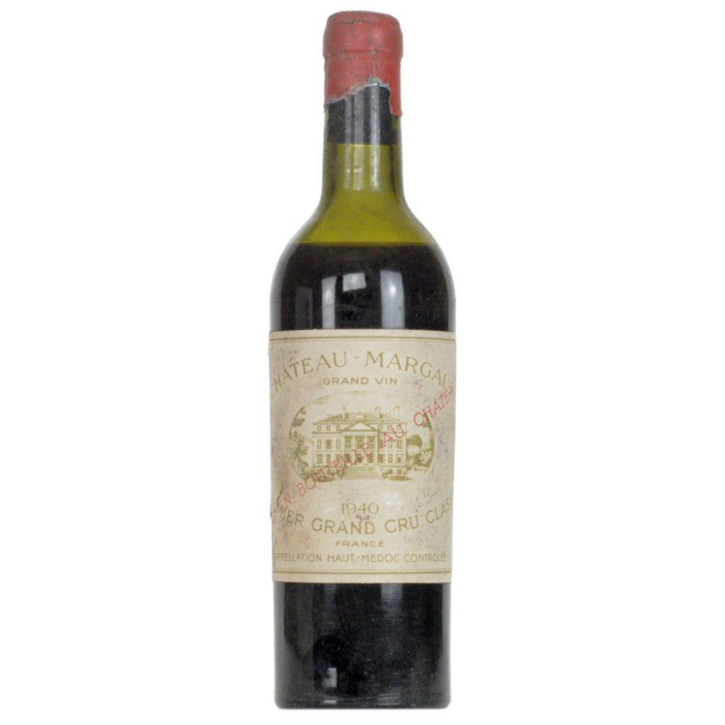 Château Margaux 1940 (half-bottle)