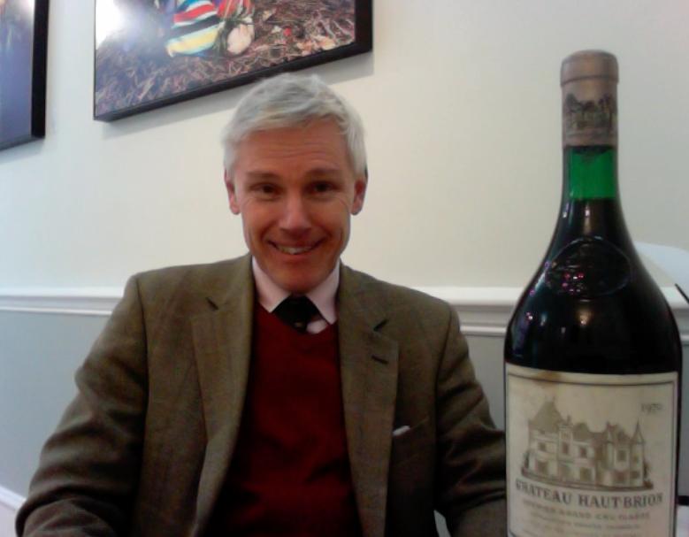 Stuart George talks about Château Haut-Brion 1970
