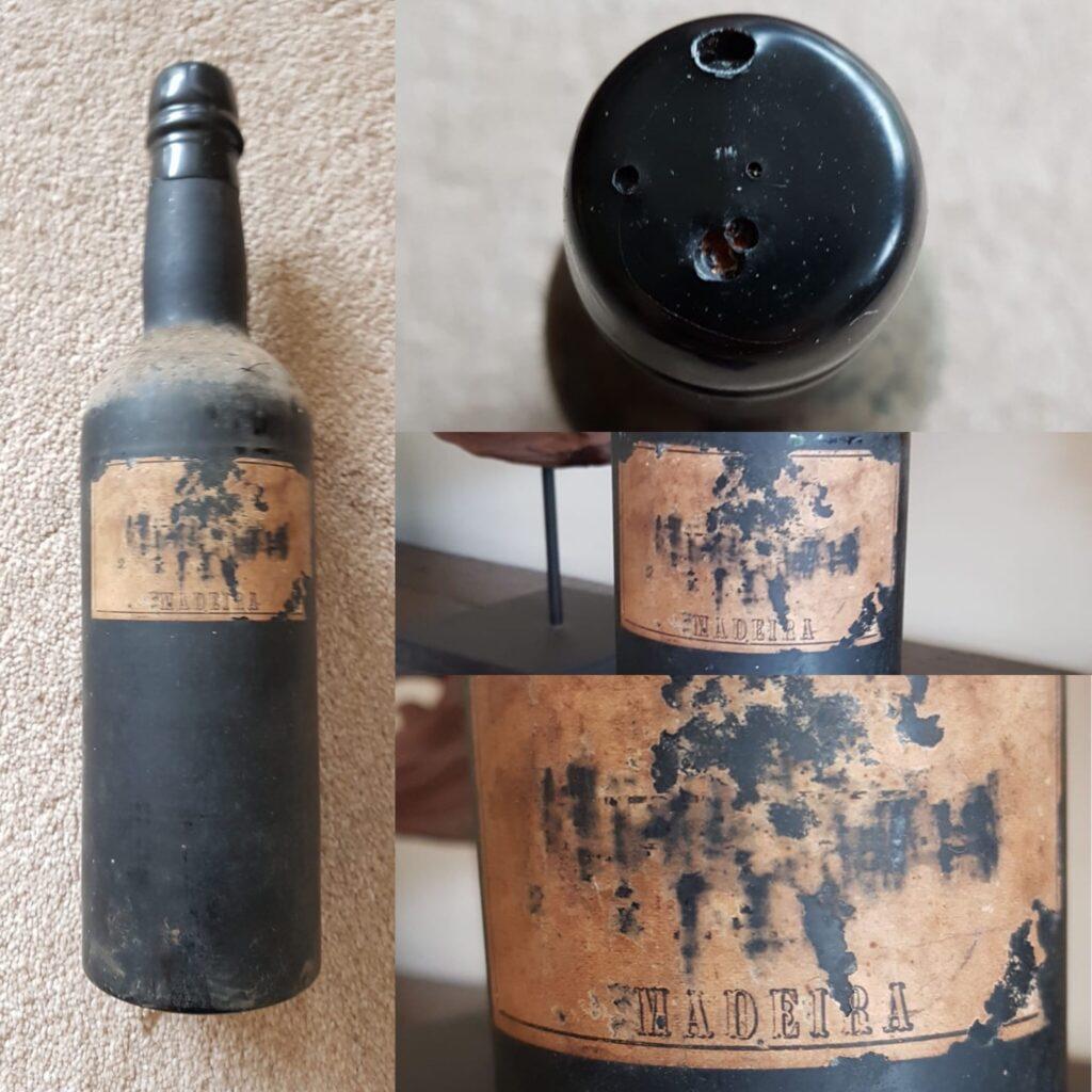 Bottle of 1810 Rumo da India Madeira