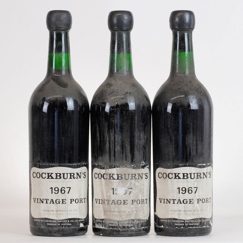 1967 Cockburn Vintage Port