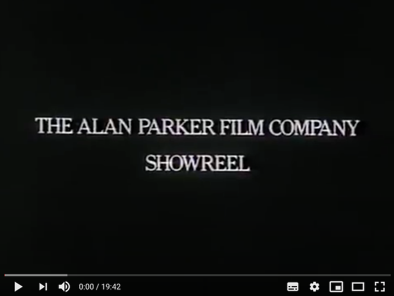 Alan Parker Showreel 1977