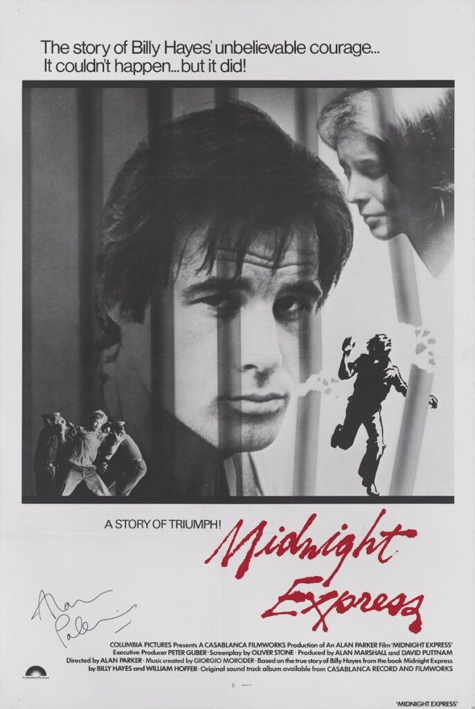 Midnight Express film poster