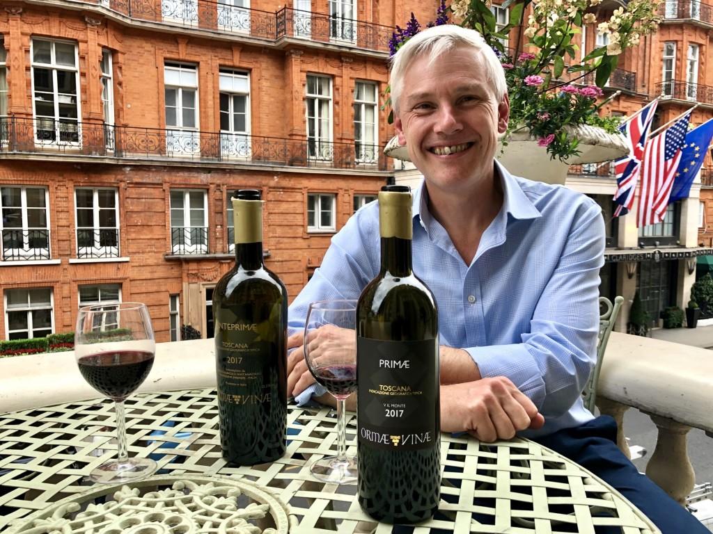 Stuart George of Arden Fine Wines tastes ORMÆVINÆ PRIMÆ IGT Toscana
